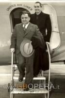 Nino Martini e Frank La Guardia sindaco di New York