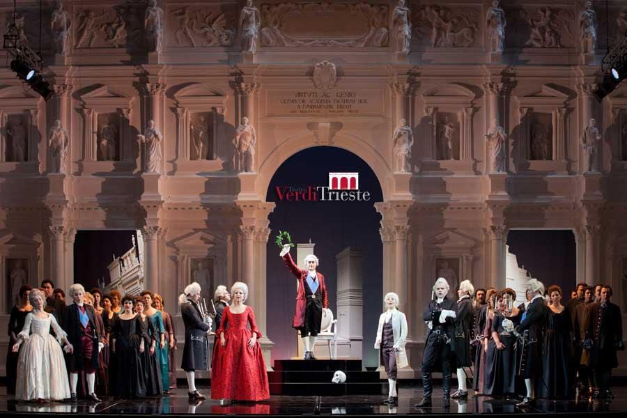 """""""La Clemenza di Tito"""" al Teatro Verdi di Trieste"""