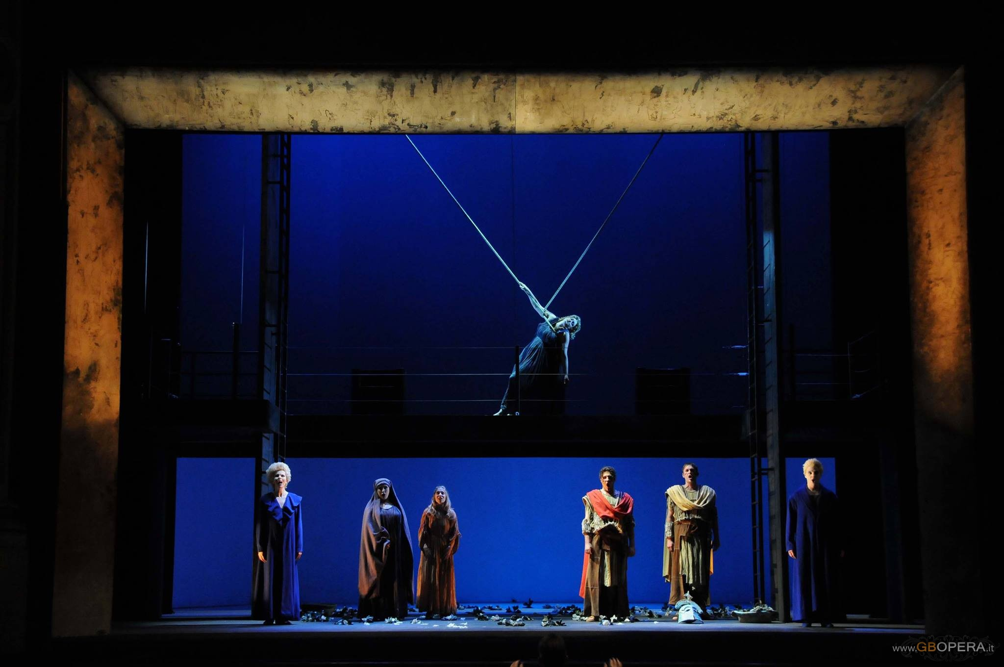 "Firenze, Teatro Goldoni: ""The Rape of Lucretia"""