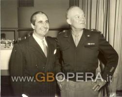 Con Dwight D. Eisenhower