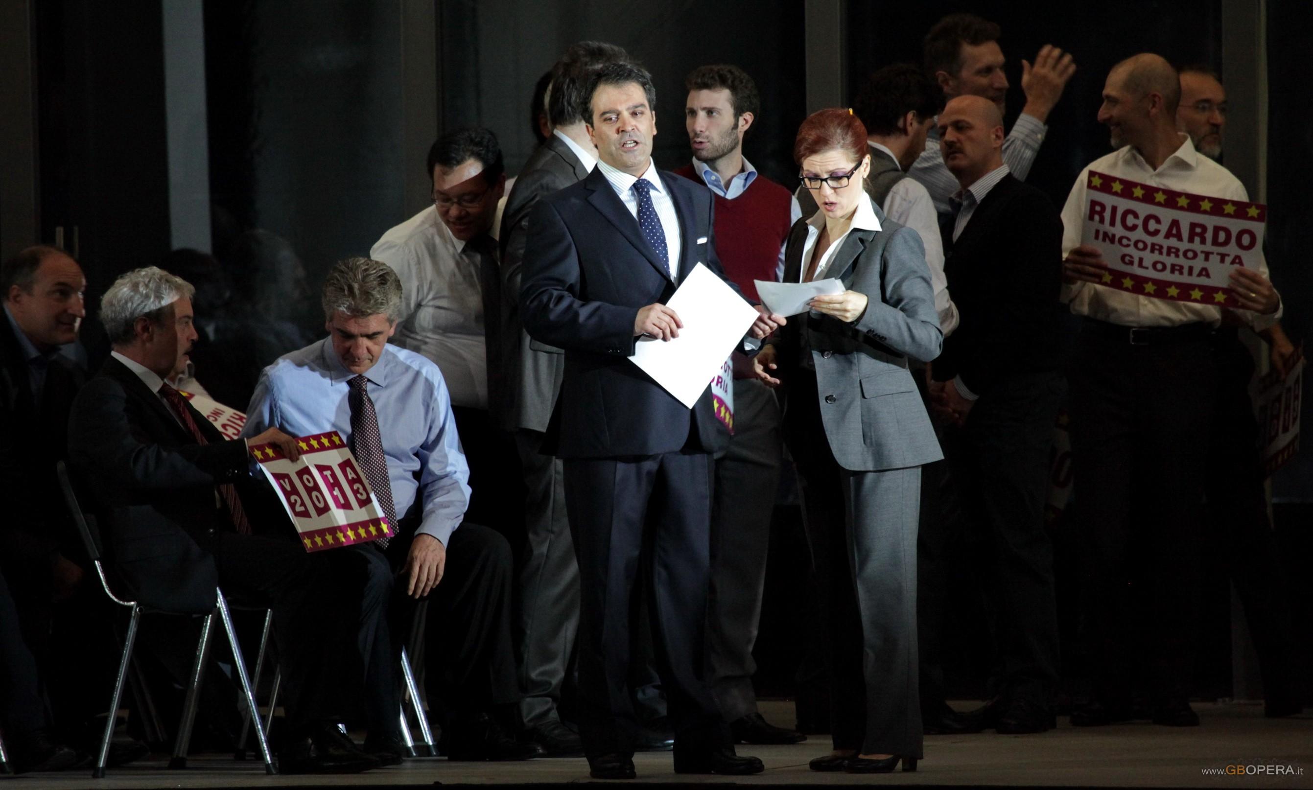 """Teatro alla Scala: """"Un ballo in maschera"""" (cast alternativo)"""