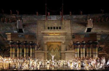 """""""Aida"""" nell'Edizione Storica 1913 di scena al 95° Festival Lirico all'Arena di Verona"""