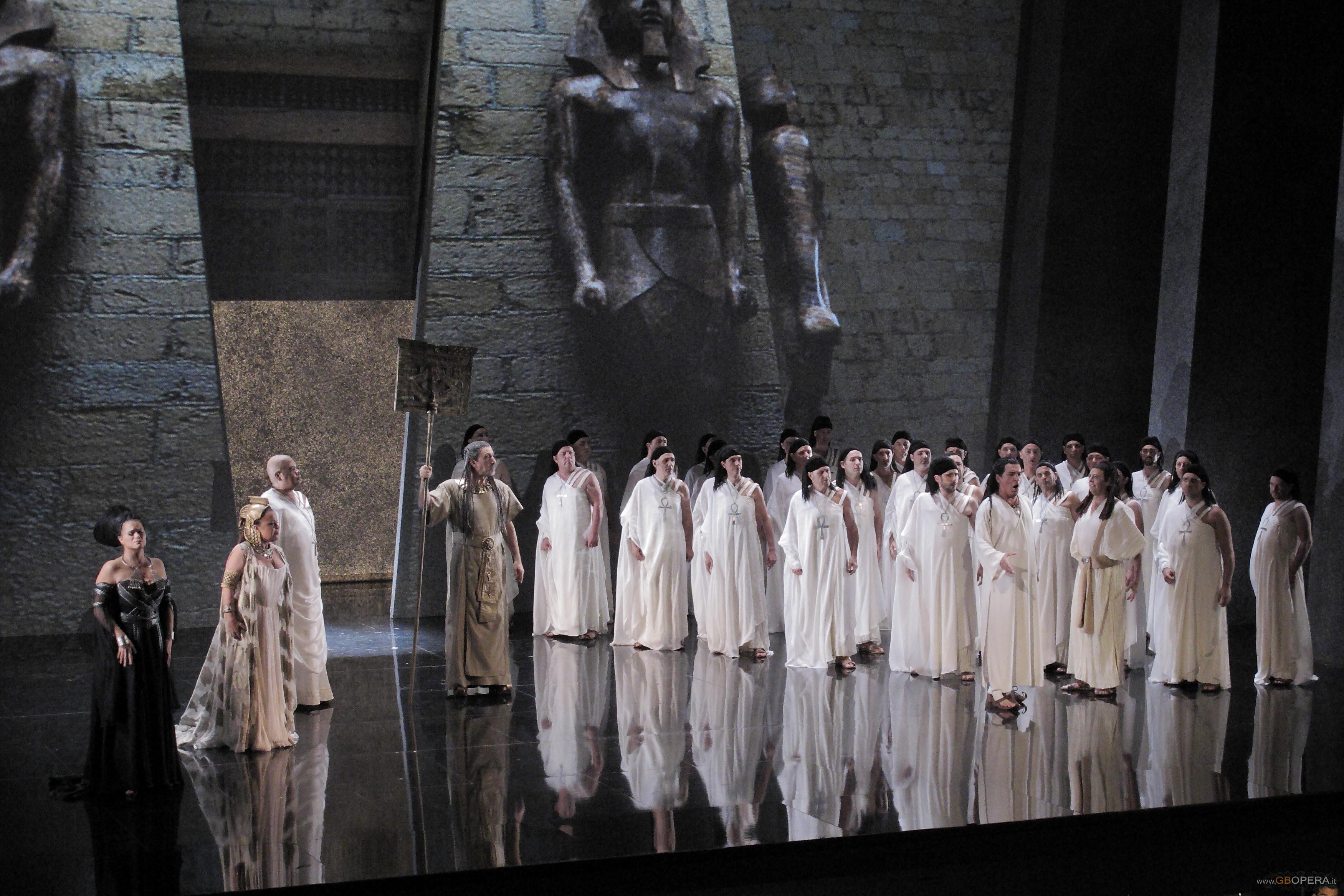 """Opéra de Marseille:""""Aida"""""""