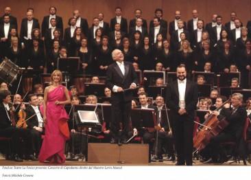 Lorin Maazel  dirige il concerto per il decennale della risorta Fenice