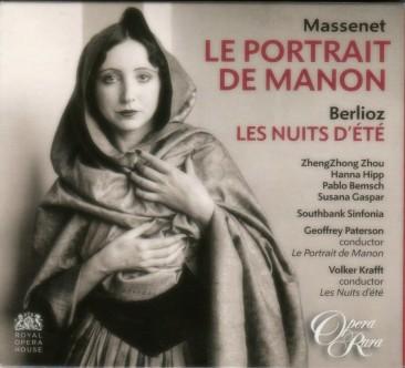 """Jules Massenet (1842-1912):""""Le portrait de Manon"""""""