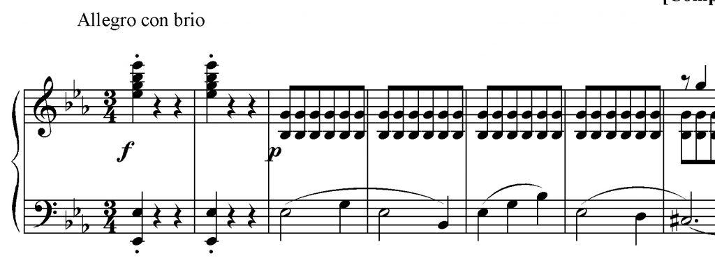 Beethoven sinfonia n. 3 es. 1