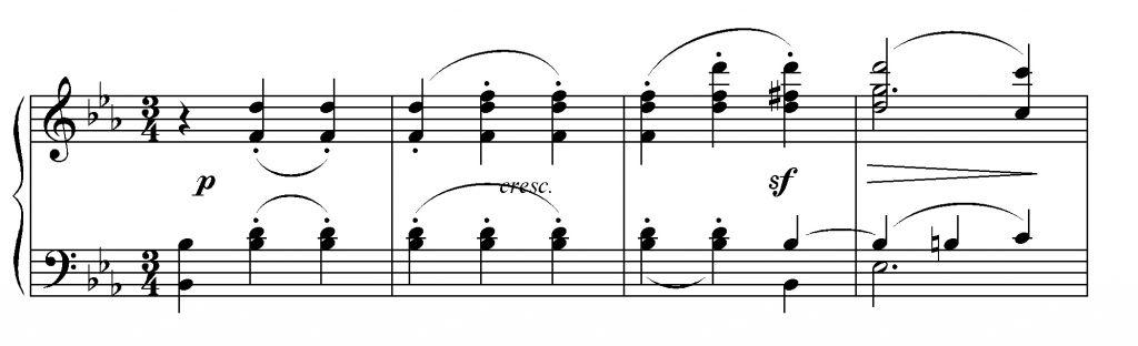 Beethoven sinfonia n. 3 es. 2