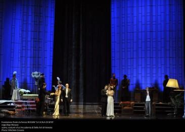 """Luci di Broadway al Malibran per """"La scala di seta"""" di Rossini"""