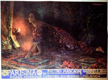 """Pietro Mascagni:""""Parisina"""""""