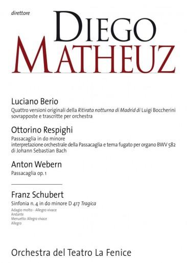 Ritorno al passato nel concerto diretto da Matheuz alla Fenice