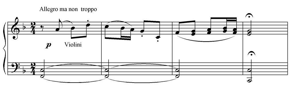 Sinfonia n. 6 es. 1