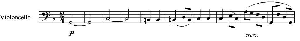 Sinfonia n. 6 es. 2