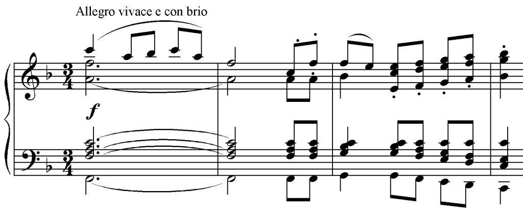 Sinfonia n. 8 es. 1