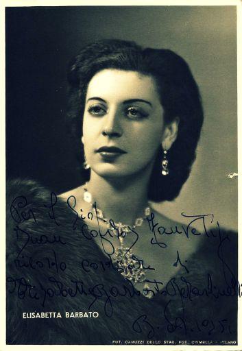 Elisabetta Barbato (1920-2014)