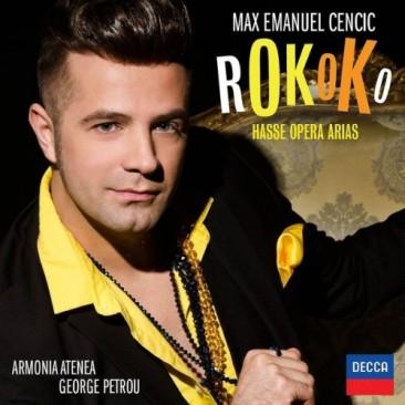"""Max Emanuel Cencic:""""Rokoko"""""""