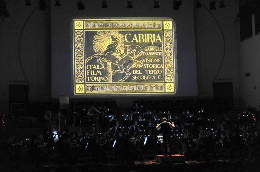 """Il centenario di """"Cabiria"""" alla RAI di Torino"""