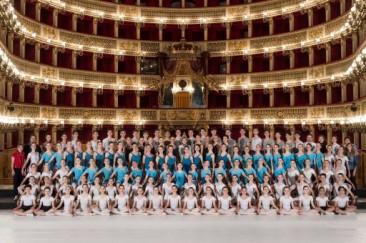 La Scuola di Ballo del San Carlo di Napoli in scena
