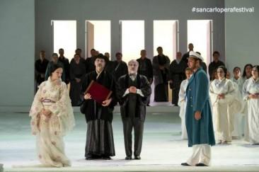 """""""Madama Butterfly"""" al Teatro San Carlo di Napoli"""