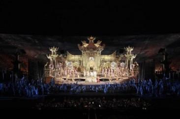 "Verona, Arena Opera Festival 2014:""Turandot"""