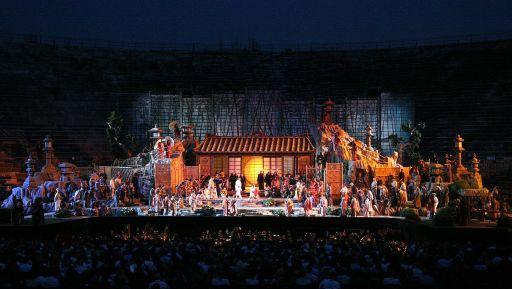 """""""Madama Butterfly"""" è il quarto titolo del 95° Festival Lirico all'Arena di Verona"""