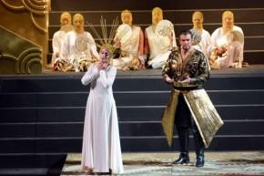 Lise Lindstrom  Lorenzo De caro - Turandot - Torre del Lago 20144 Festival Puccini