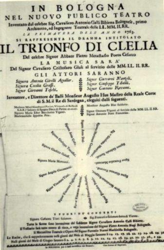 """Christoph Willibald Gluck: """"Il trionfo di Clelia"""""""