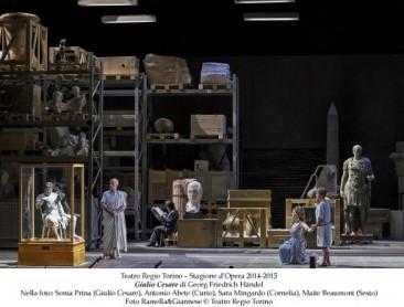 """""""Giulio Cesare"""" di Händel per la prima volta a Torino"""