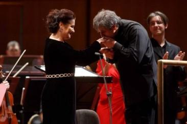 Roma: Antonio Pappano e Anna Netrebko all'Accademia Nazionale di Santa Cecilia