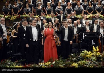 Venezia, Teatro La Fenice: Concerto di Capodanno 2015