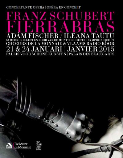 """Bruxelles, Théâtre La Monnaie: """"Fierrabras"""""""