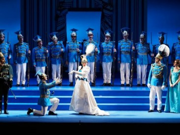 "Madrid, Teatro de la Zarzuela: ""La Gran Duquesa de Gerolstein"""