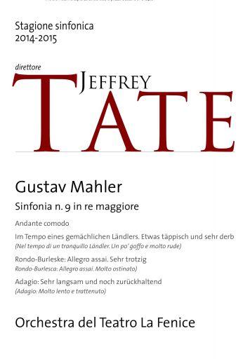 Venezia, Teatro La Fenice: Il sublime Mahler di Jeffrey Tate