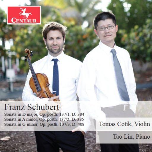 Tomas Cotik & Tao Lin : Franz Schubert, Sonatas op. posth. 137