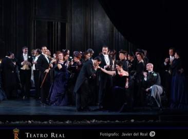 """""""La Traviata"""" al Teatro Real di Madrid (cast alternativo)"""