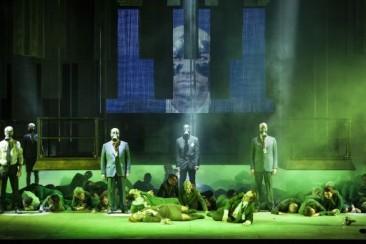 """Bruxelles, Théâtre La Monnaie: """"Un ballo in maschera"""""""