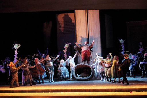 """Marseille, Opéra Municipal: """"Falstaff"""""""