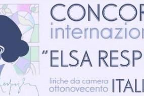 """I vincitori della seconda edizione del Concorso Internazionale di musica vocale da camera """"Elsa Respighi"""" 2016"""