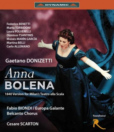 """Gaetano Donizetti (1797-1848): """"Anna Bolena"""""""