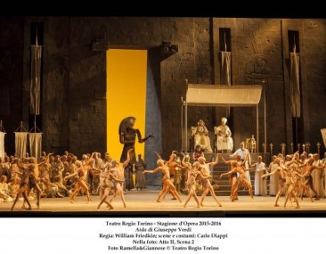 "Torino, Teatro Regio: ""Aida"" (cast alternativo)"