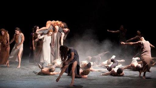Madrid, Teatro Real, 10 III 2016 (Sasha Waltz, Sacre) 2