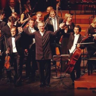 Renaud & Gautier Capuçon avec Valery Gergiev au  Festival de Pâques d'Aix-en-Provence: Valery Gergiev,