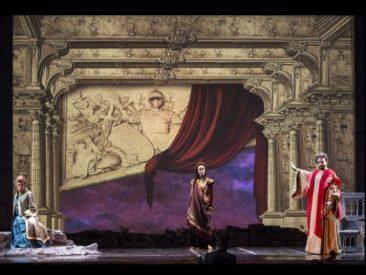 """Napoli, Teatro di Corte di Palazzo Reale: """"Zenobia in Palmira"""" di Paisiello"""