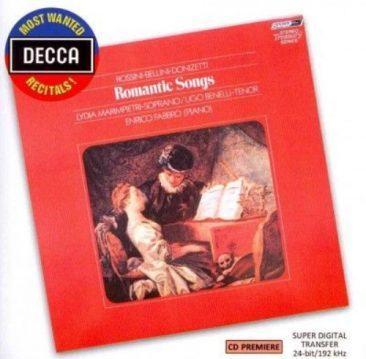 """Rossini, Bellini, Donizetti: """"Romantic songs"""" – Lydia Marimpietri & Ugo Benelli"""