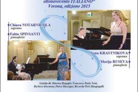 Verona, Concerto di Musica vocale da camera italiana a Villa Mosconi Bertani