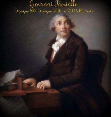 """Giovanni Paisiello (1740 – 1816): """"Nina, o sia la pazza per amore"""" nel bicentenario della morte del compositore"""