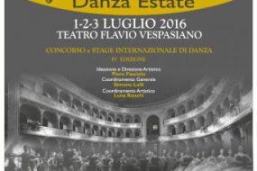 Rieti Danza Estate – IV Edizione
