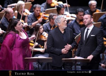 """I due Foscari"" al Teatro Real di Madrid con Plácido Domingo"