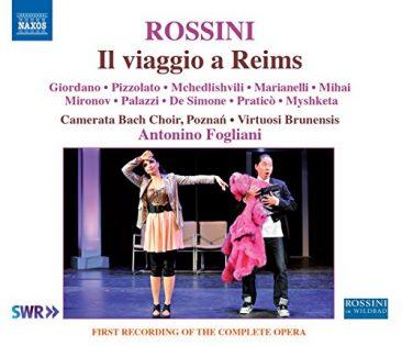"""Gioachino Rossini (1792 – 1868): """"Il viaggio a Reims, ossia l'albergo del Giglio d'oro"""""""