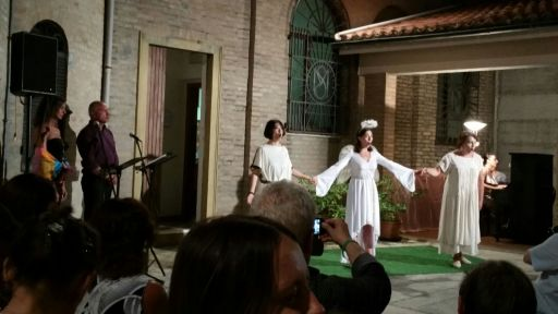 """Pesaro, Convento dei servi di Maria: """"Orfeo ed Euridice"""" di Gluck"""