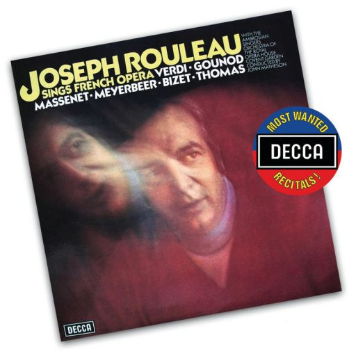 Joseph Rouleau (n.1929) & Raphael Ariè (1920-1988) sings french and russian opera